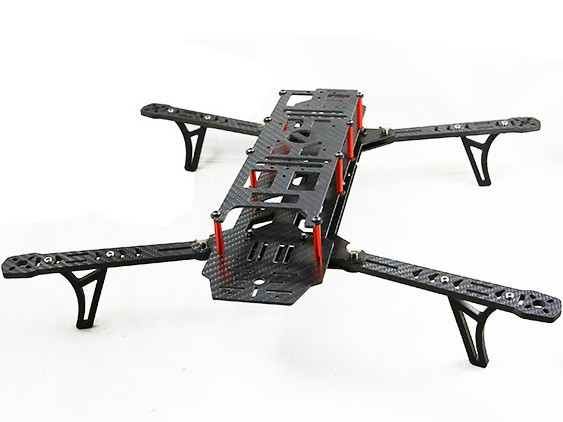 AlienCopter Bee Full Carbon Kit W/Clean und Dirty System und PDB W/BEC