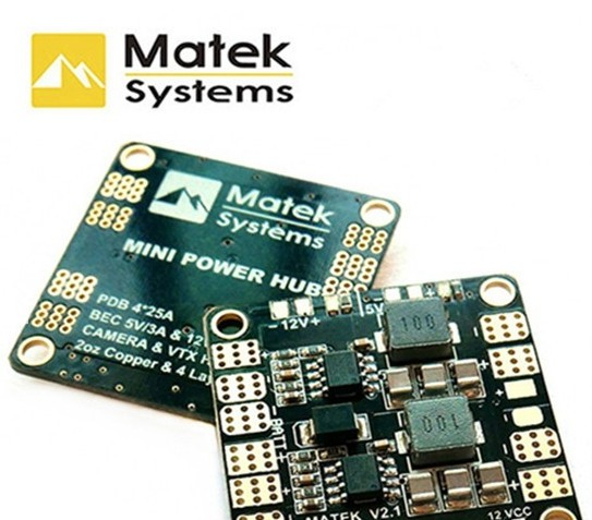 Matek Mini Power Hub Power Distribution Board mit BEC 5V/12V