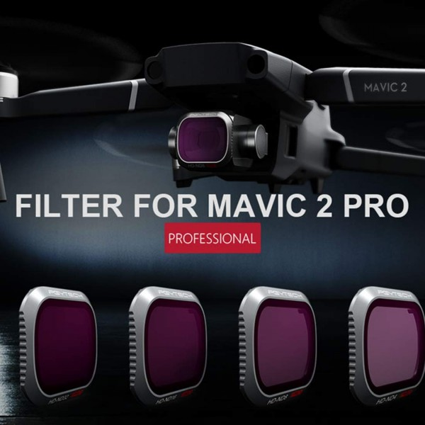 PGYTECH - DJI Mavic 2 PRO ND/PL Filter Set