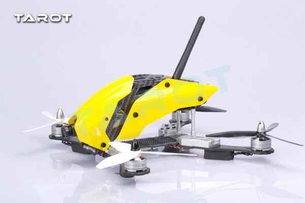 Tarot 250mm Racing Mini Quadcopter Carbon Fiber Frame Kit mit Verkleidung